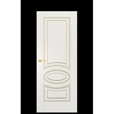 Alicante A Interior Door | Antique Gold