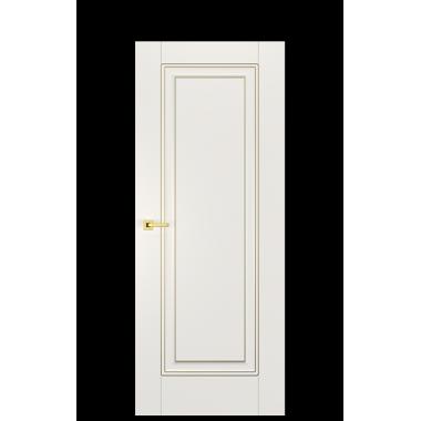 Alicante FK Hard-Milled Door in Antique Gold