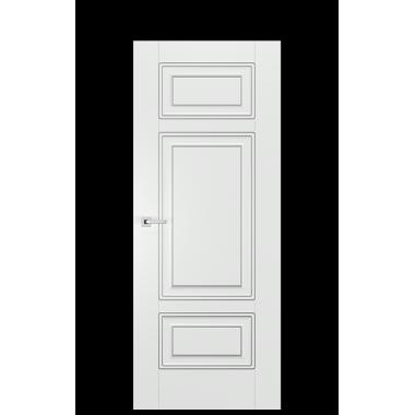 Alicante E Door | Antique Silver