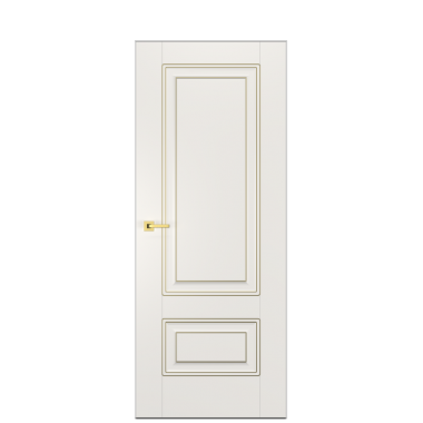 Alicante Enamel Painted Door in Antique Gold