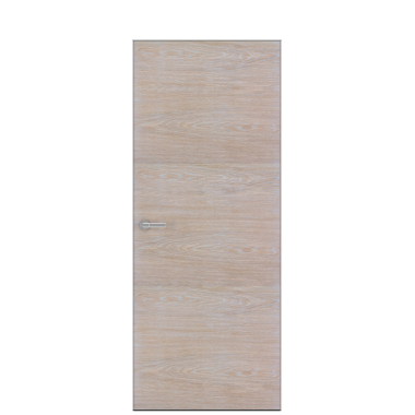 Unica 1 Natural Wood Door | Bleached Oak