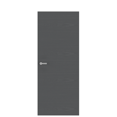 Unica 1 Natural Wood Door | Graphite