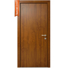 North 70 Entry Door | Golden Oak
