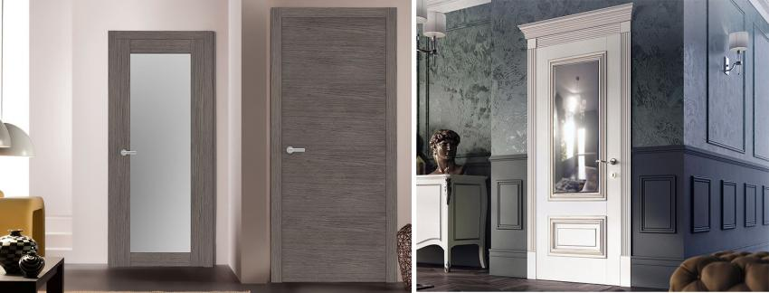 Popular materials of interior doors in the US