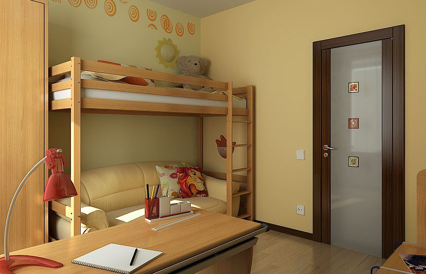 Choosing doors for a nursery or children's room