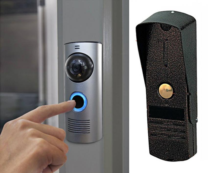 Choosing front door hardware doorbells