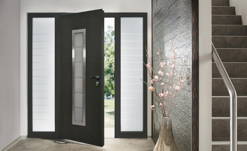 Front doors coating & finishing options
