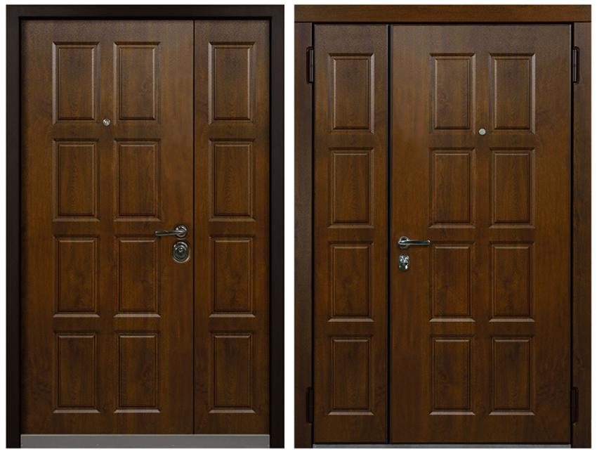 How to choose a double front door