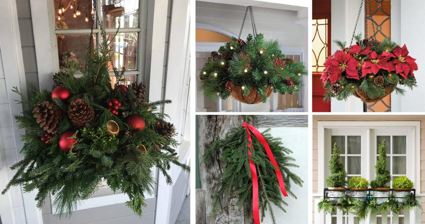 how to decorate your door for winter